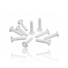 Scharnierpen van vriesvakdeur voor Bosch en Siemens koelkasten - onderste - 10 stuks