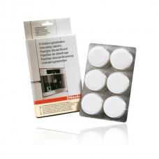 Ontkalkingstabletten voor Miele koffiemachines en stoomovens - 6 stuks