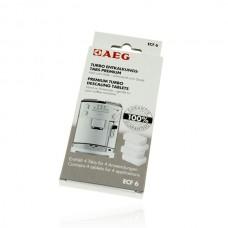 Ontkalkingstabletten voor koffiemachines van AEG - ECF6 Turbo Premium ontkalkingstabs