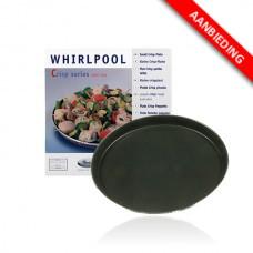 480131000083 Crispplaat voor Whirlpool en Bauknecht magnetrons  AVM250 - 250-270mm