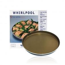 Crispplaat voor Whirlpool en Bauknecht magnetrons AVM305 - 305/320mm