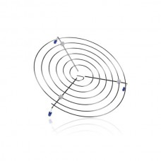 Ovenrooster rond laag voor Samsung magnetrons - 260x39mm