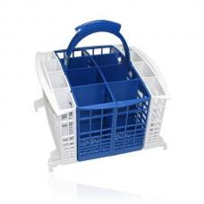 Bestekmand voor Ariston en Hotpoint vaatwassers 8+8-vaks blauw-wit