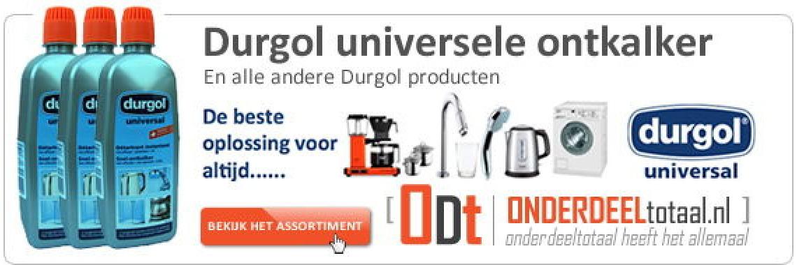 Durgol Universal ontkalker en alle andere Durgol producten